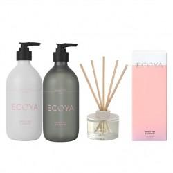 Ecoya Sweet Pea & Jasmine The Fragrant Bathroom Set