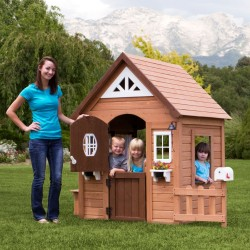 Lifespan Kids Backyard Discovery Aspen Cubby House
